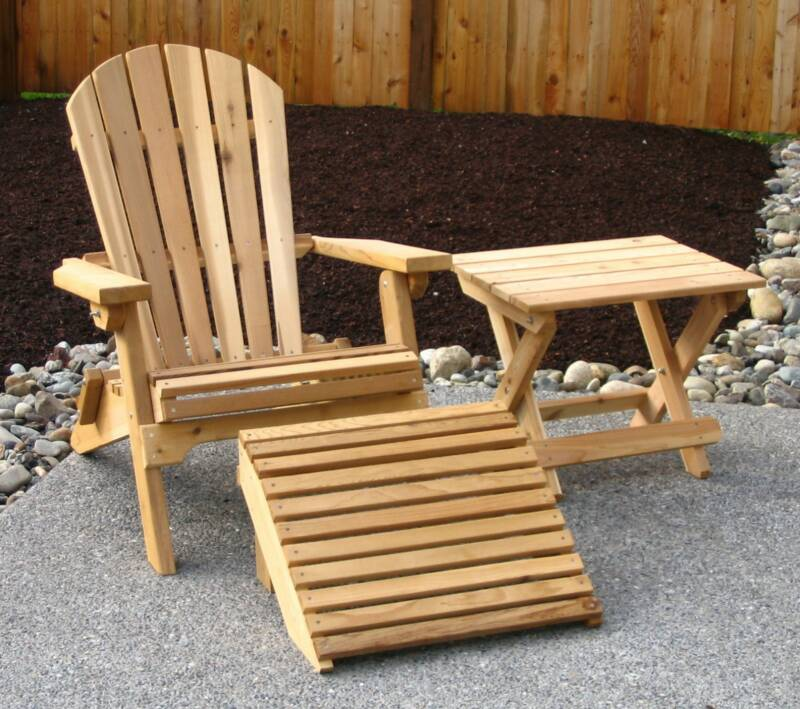 Good Amish Crafted Cedar Outdoor Furniture